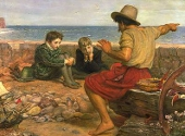 Copilaria lui Raleigh de Millais. Pictura din 1871