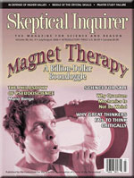 skeptical inquirer august 2006